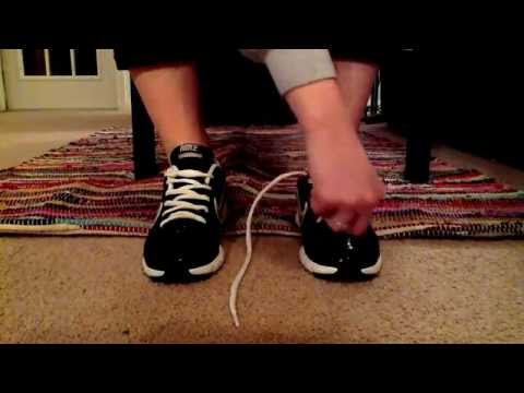 One-handed Shoe Tying