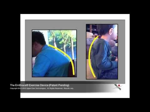 The EmBrace® Exercise Device. Power Your Posture