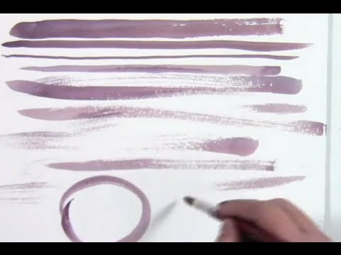 Watercolor Brush Stroke Exercises