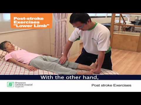 Post-Stroke Exercises (Part 2: Lower Limb)