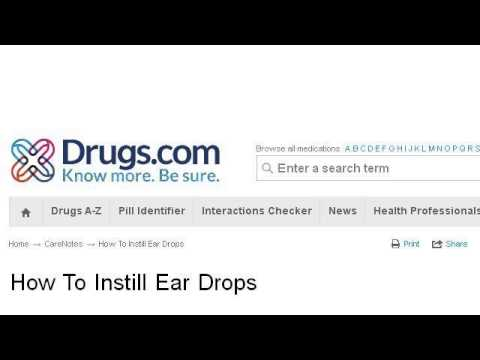 How-To Administer Ear Drops To Children