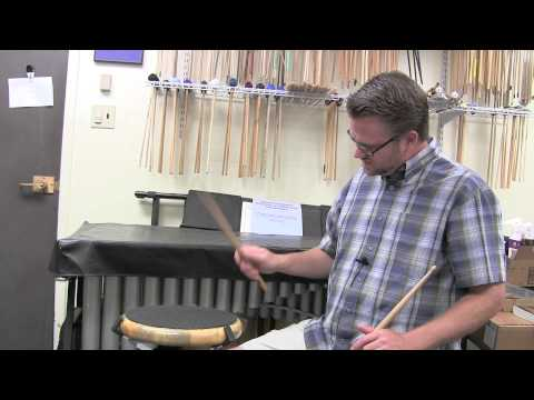 Percussion Education – Episode 004: Different Stroke Types