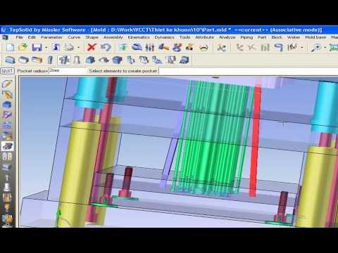 Phần mềm CAD/CAM Topsolid Mold