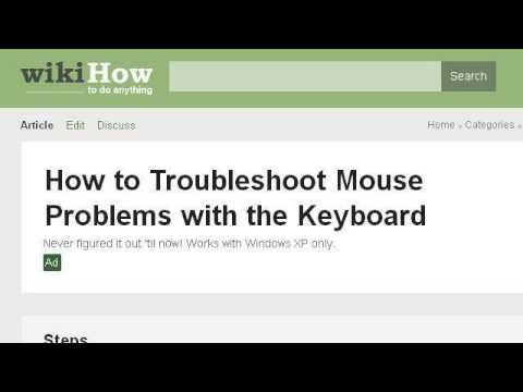 How-To Troubleshoot Problems With A Keyboard