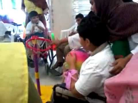 cerebral palsy children playing basketball :)