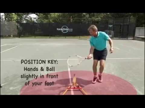 The Eye Coach: Forehand Volley