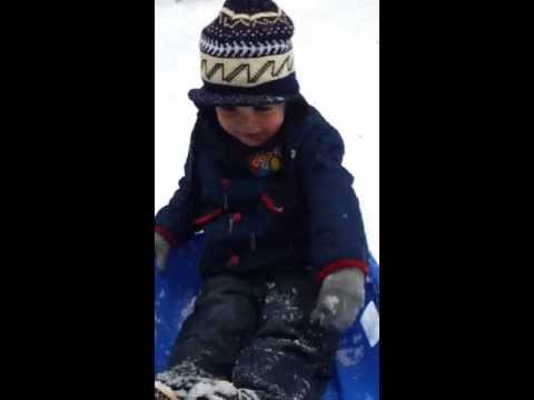 Sledging 20/01/2013 (age 3) Part 3