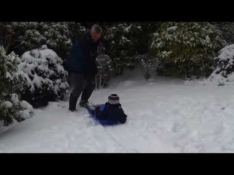 Sledging 20/01/2013 (age 3) Part 1