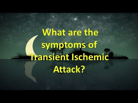 What are the symptoms of Transient Ischemic Attack