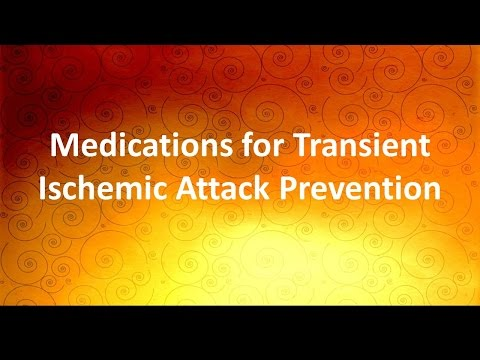 Medications for Transient Ischemic Attack Prevention