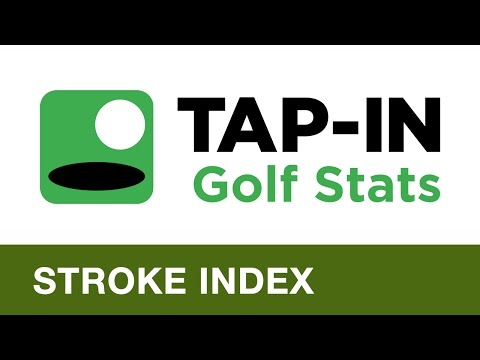 TAP-IN Golf Stats – Stroke Index Feature