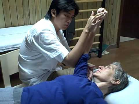 Stroke exercises in Tianjin, China