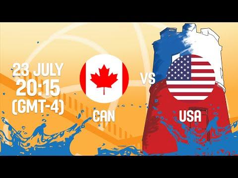 Canada v United States – Full Game – Gold Medal – 2016 FIBA Americas U18 Men's Championship