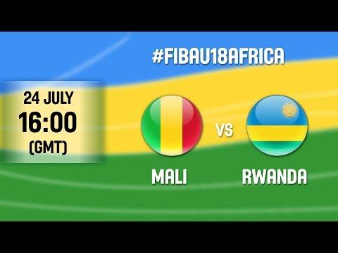 Mali v Rwanda – Full Game – 2016 FIBA Africa U18 Championship