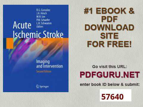 Acute Ischemic Stroke Imaging and Intervention