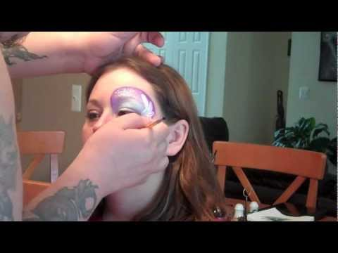 One Stroke Eye Face Painting | Marvelous Masks Chicago Face Painting