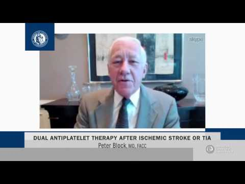 Heart Minute | Dual Antiplatelet Therapy after Ischemic Stroke or TIA