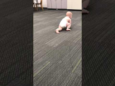 Left Hemiplegia Infant Crawling