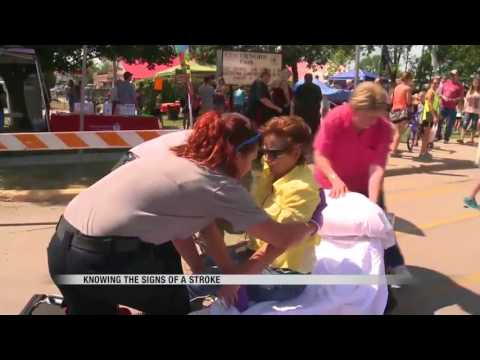 News Stroke simulation teaches the signs of a stroke