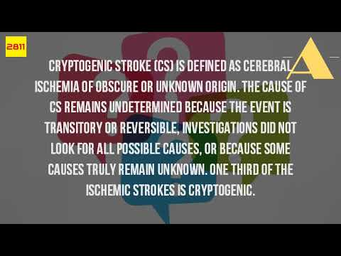 What Is A Cryptogenic Stroke?