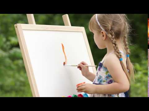 The-first-brush-stroke-on-a-painting Full HD released by NCV