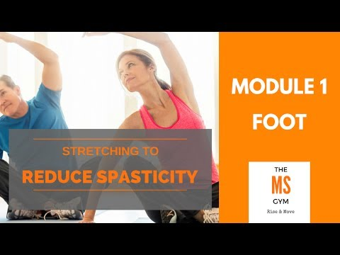 Reducing MS Spasticity: Toes & Foot