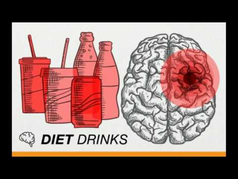 Diet drinks and soda can cause stroke and dementia – public awareness message -20th April 2017 study