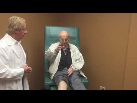 In The Exam Room – Dick – Treating Dropfoot – Anderson Podiatry Center