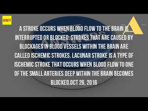 What Causes A Lacunar Infarct?