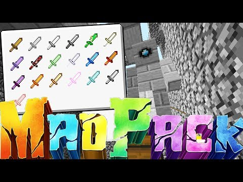 CAN WE CREATE THIS OVERPOWERED SWORD!? – MINECRAFT MAD PACK CHALLENGE SURVIVAL #6