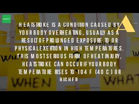 What Is A Heat Stroke?