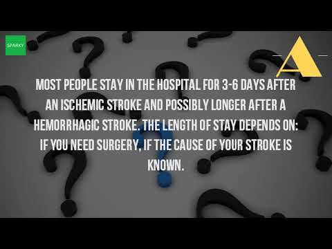 How Long Do You Stay In The Hospital For A Stroke?
