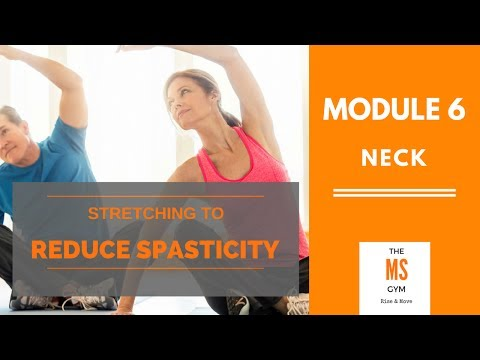 Stretching To Reduce Spasticity: Neck