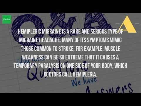 What Is A Hemiplegic Migraine?