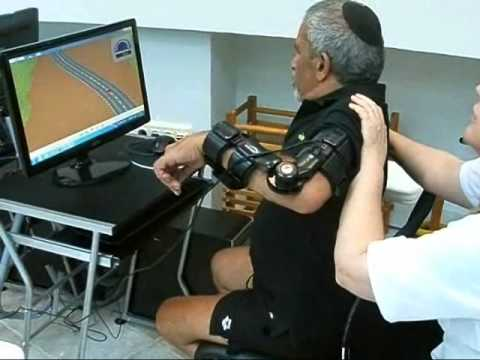 Stroke patient arm rehabilitation using ArmTutor