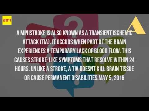 What Is A Mini Stroke And What Causes It?