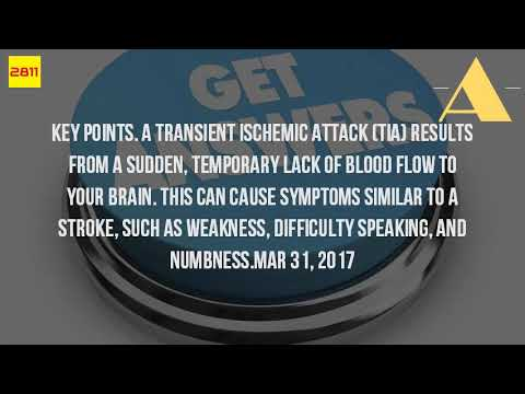 What Can Cause A Mini Stroke?