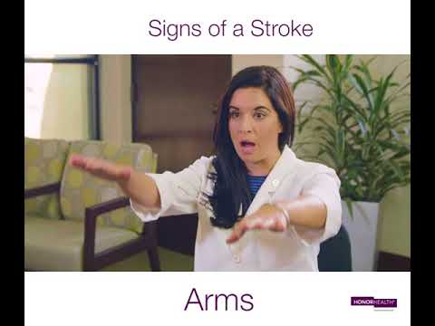 Signs of a Stroke – HonorHealth Spine Group Arizona