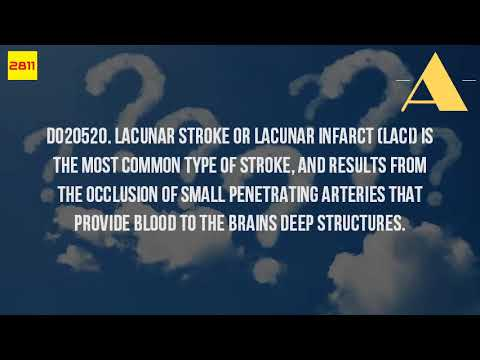 What Is A Lacunar Infarct?