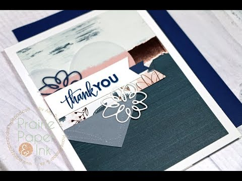 SSS Brush Stroke Messages Card Trio | October 2017 Card Kit
