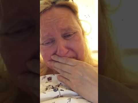 Ella in Hemiplegic Migraine when it first begins