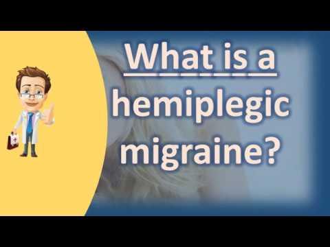 What is a hemiplegic migraine ? | Good Health and More