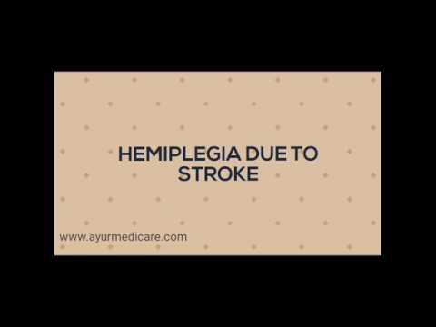 A hemiplegia case recovers with ayurvedic treatments