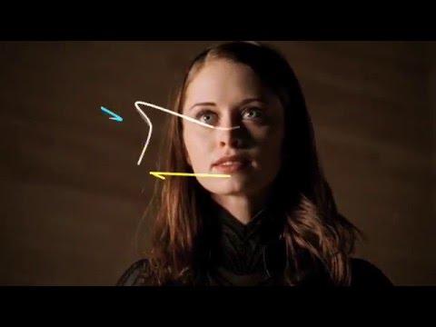 "3 eye strokes watching ""AMELIA"""