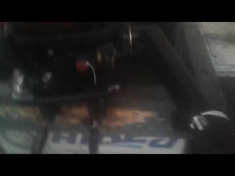 Tohatsu 5 hp 4 stroke  test drive