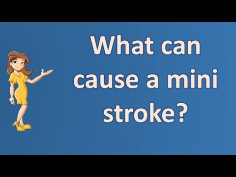 What can cause a mini stroke ? |Most Asked Questions on Health