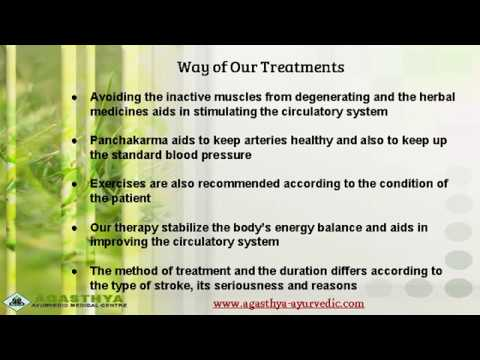 Ayurveda Stroke Treatment in Kerala | Stroke Recovery Treatment | Rehabilitation Stroke in India