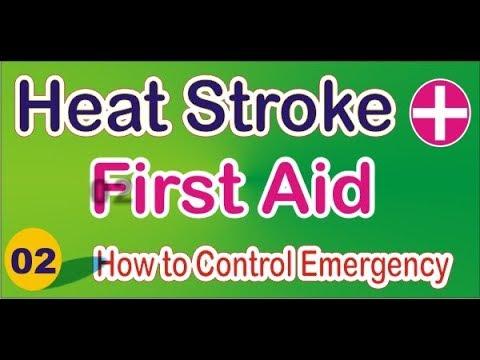 first aid training video | Heat Sun Stroke