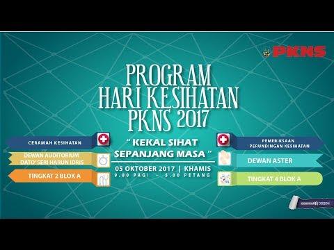 LIVE! Ceramah Kesihatan PKNS | Acute Stroke – Dr Hilwani Kaharuddin