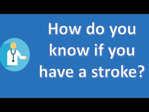 How do you know if you have a stroke ? | Most Rated Health FAQ Channel